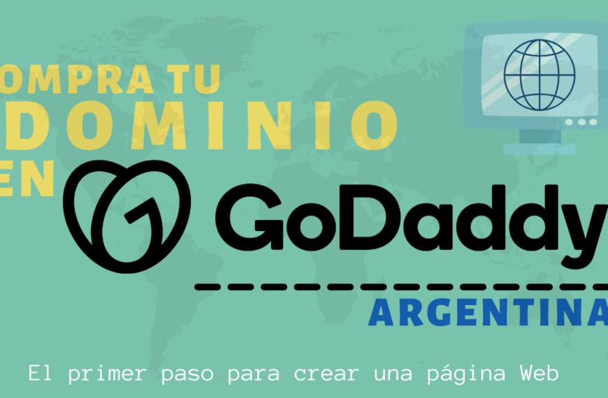 Compra tu Dominio en GoDaddy Argentina